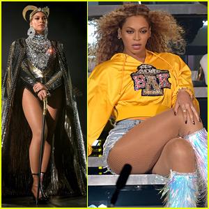 Beyonce's Coachella Performance Photos - See Her Fierce Looks!