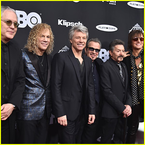 Bon Jovi Gets Inducted into Rock & Roll Hall of Fame!