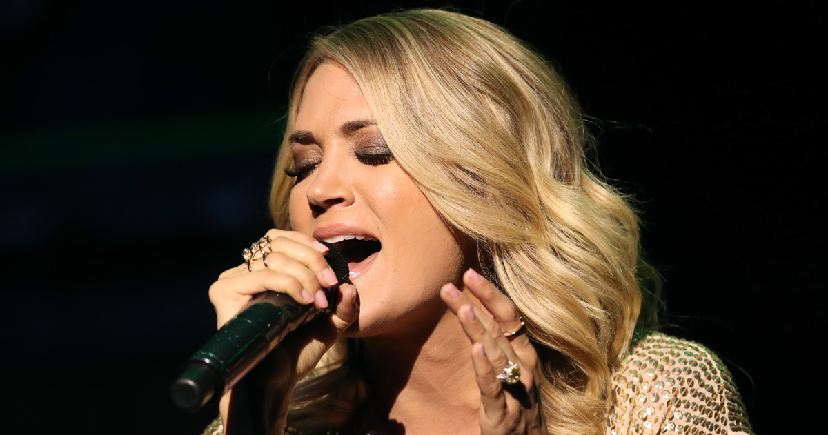 carrie hispanic singles A lot of people wanted to take a knee on harper grace's 2012 national anthem,  but the now-16-year-old singer just redeemed herself on.