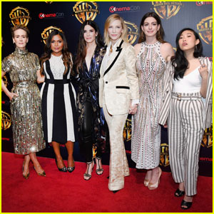 Sandra Bullock, Anne Hathaway & 'Ocean's 8' Step Out at Cinemacon 2018!