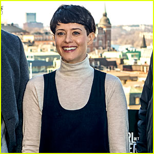 Claire Foy Debuts New Haircut to Play Lisbeth Salander!
