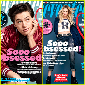Cole Sprouse, Lili Reinhart & 'Riverdale' Stars Cover Seventeen's May/June 2018 Issue - See The Covers!