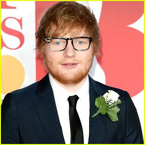 Ed Sheeran en Conversaciones para Aparecer en la Música Temática de la Comedia de la Película
