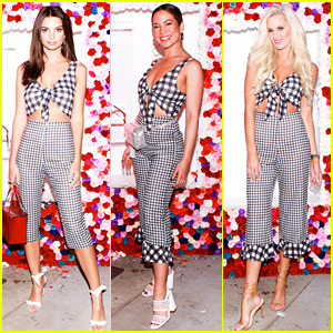 Emily Ratajkowski & Two Others Wore the Same Outfit at Festival Welcome Dinner!