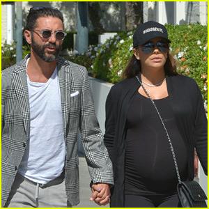 Eva Longoria & Jose Baston Hold Hands Heading to Doctors Appointment!