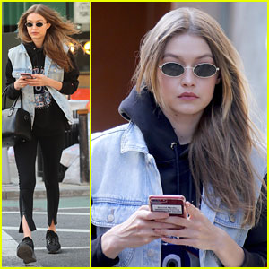 Gigi Hadid Sends a Message With Her Phone Case