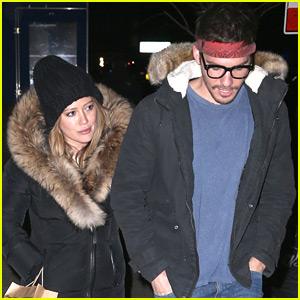Hilary Duff & Boyfriend Matthew Koma Bundle Up for Dinner in NYC