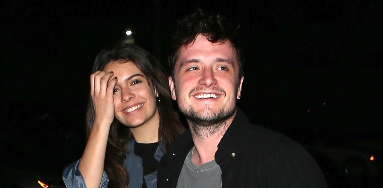 Josh Hutcherson & Girlfriend Claudia Traisac Check Out