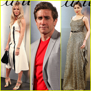 Jake Gyllenhaal, Sienna Miller & Freida Pinto Step Out for Star-Studded Santos de Cartier Launch!