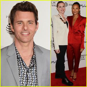 James Marsden Joins Evan Rachel Wood & Thandie Newton at 'Westworld' Screening