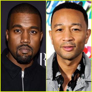 Kanye West Shares John Legend Text Exhange Over Donald Trump Tweets