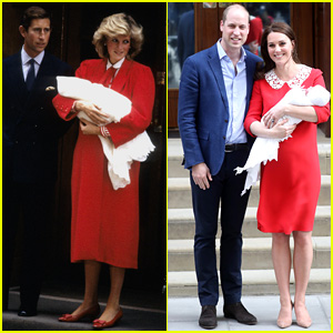Kate Middleton Pays Homage to Princess Diana While Debuting New Royal Baby