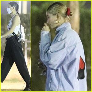 Kendall Jenner & Hailey Baldwin Wrap Up Their Saturday at Coachella