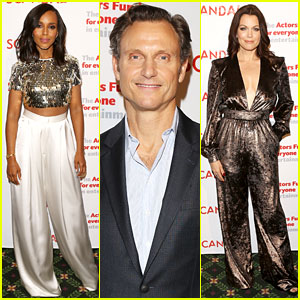 Kerry Washington & 'Scandal' Cast Read the Series Finale for a Live Audience!