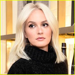 Leighton Meester Dyes Hair Platinum Blonde!   Leighton Meester ...