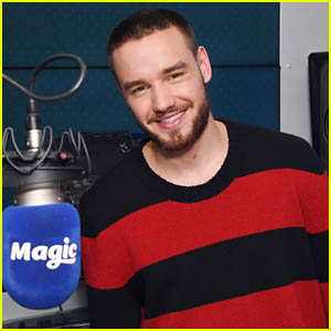 Liam Payne Visits KISS FM Radio Studios in London After Announcing New Single 'Familiar'!