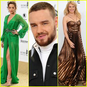 Liam Payne Joins Rita Ora & Kylie Minogue at Echo Awards 2018!