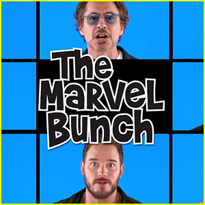 'Avengers: Infinity War' Cast Sings 'The Marvel Bunch' - Watch Now!