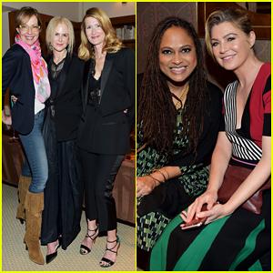 Nicole Kidman, Laura Dern & Allison Janney Buddy Up at 'InStyle's Badass Women Dinner!
