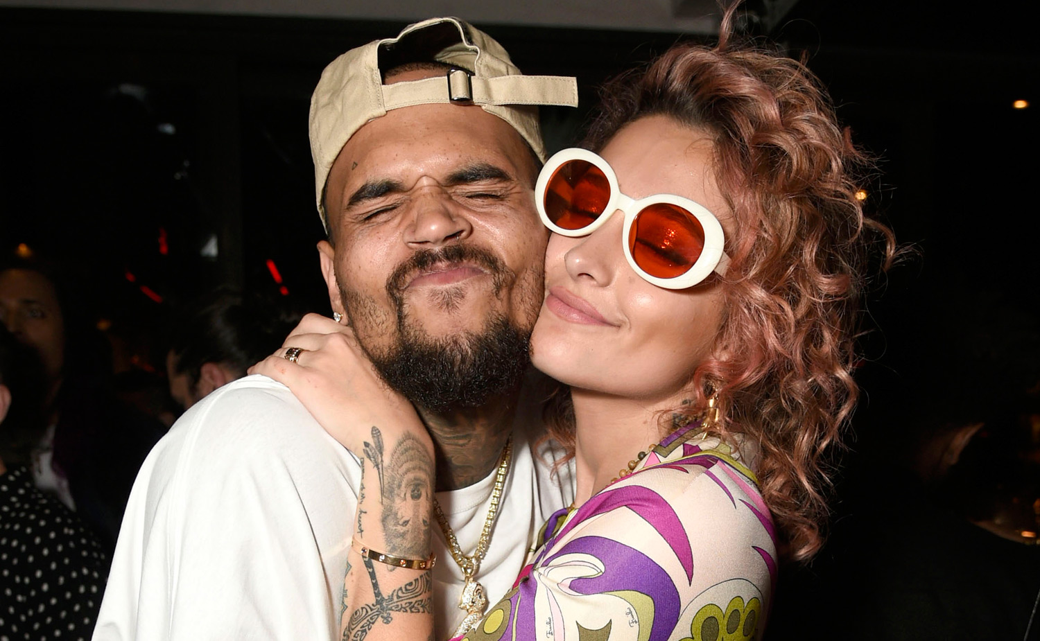 Who is dating chris brown 2018