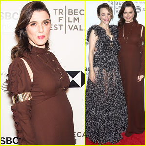 Rachel Weisz Makes First Red Carpet Appearance Since Announcing Pregnancy