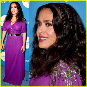 Salma Hayek & Other Celebs Show Support at UNICEF Ball