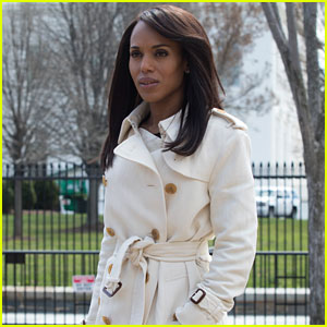 'Scandal' Series Finale Photos - Olivia Pope in Her White Coat, One Last Time!