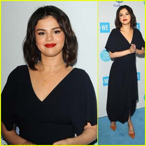 Selena Gomez Looks Pretty on the Red Carpet for WE Day California!