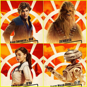 'Solo: A Star Wars Story' Reveals Character Posters!