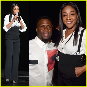 Tiffany Haddish & Kevin Hart Entertain the Crowd at CinemaCon 2018 in Las Vegas!