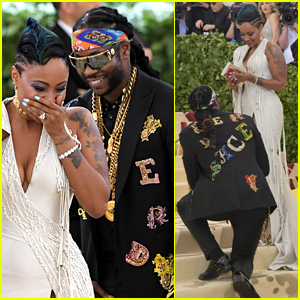 2 Chainz Proposes to Wife Kesha at Met Gala 2018! | 2 Chainz