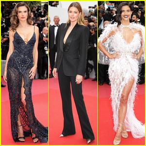 Alessandra Ambrosio, Doutzen Kroes & More Models Hit Carpet at 'Solo: A Star Wars Story' Cannes Festival Premiere!