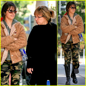 Camila Cabello Steps Out With Her Mom After Being Hospitalized