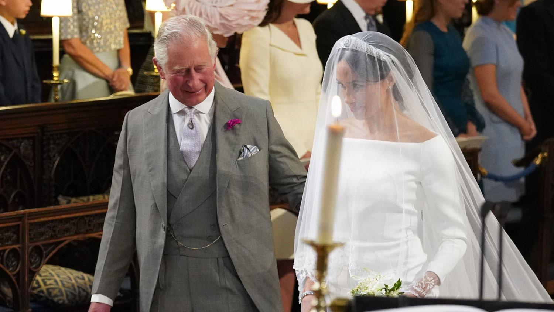 Prince Charles Walks Meghan Markle Down Aisle At Royal