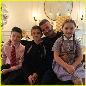 David Beckham's Family Sends Sweet Birthday Messages!