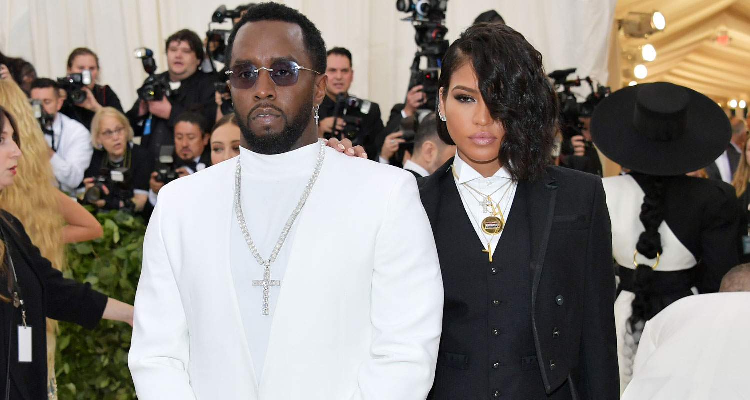 diddy amp cassie are a chic couple at met gala 2018 2018