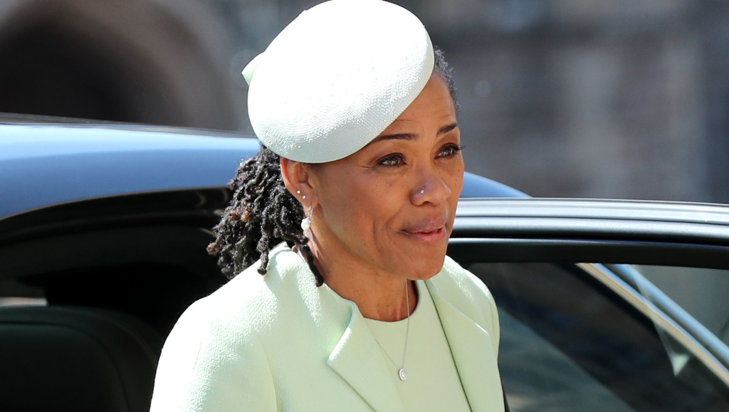 Meghan Markle S Mom Doria Drives With Her To Royal Wedding