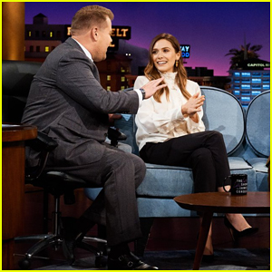 Elizabeth Olsen Reveals Her Boyfriend  Robbie Arnett Is Now Her Roommate on 'Late Late Show'!