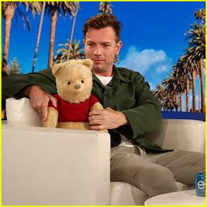 Ewan McGregor Debuts 'Christopher Robin' Trailer on 'Ellen' - Watch Now!