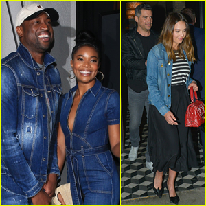 Gabrielle Union & Jessica Alba Step Out for Double Date in WeHo!