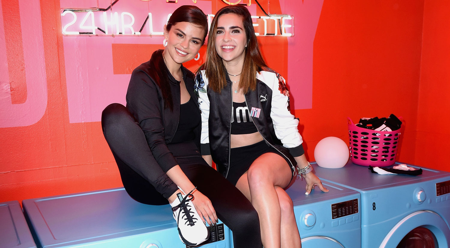 7d48b515a1e Selena Gomez Visits Puma Defy City to Launch New Sneaker Collection ...