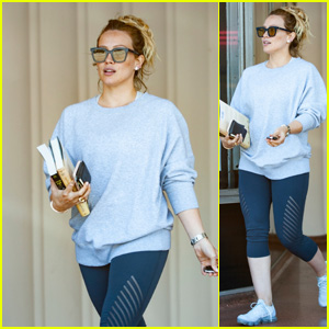Hilary Duff Completely Surprised by Proposal Hilary Duff Just