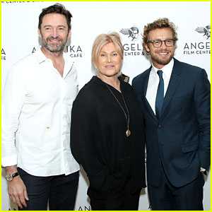 Hugh Jackman Supports Pal Simon Baker at 'Breath' Screening