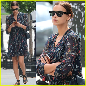 Irina Shayk Steps Out for Solo Shopping Trip in NYC
