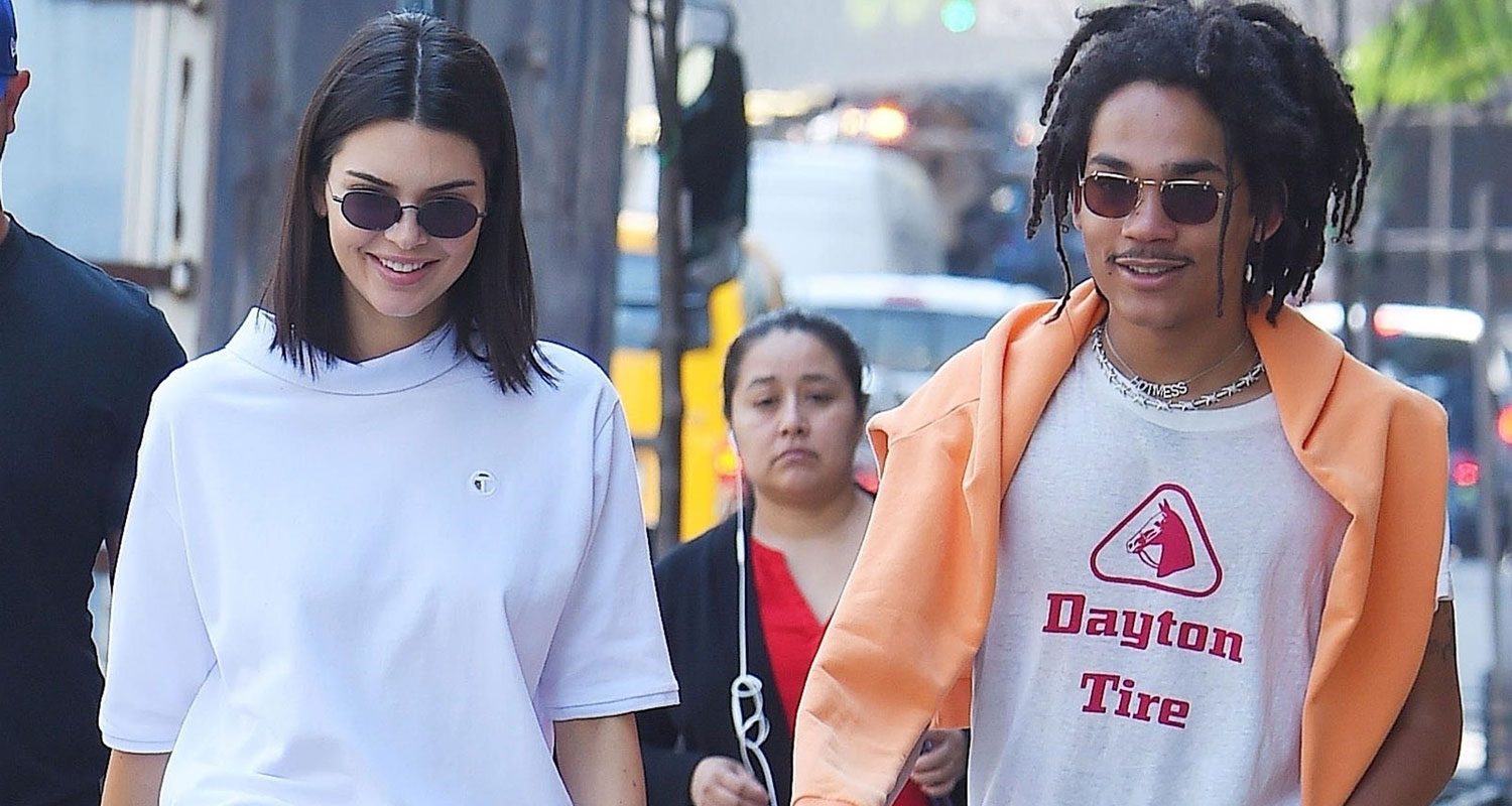 Kendall Jenner Hangs With Pal Luka Sabbat In Nyc