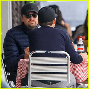 Leonardo DiCaprio Spotted Out for Lunch with Another Famous Friend!