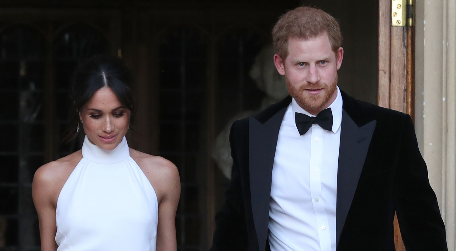 Meghan markle wows in second wedding dress alongside for 2nd wedding dress for reception