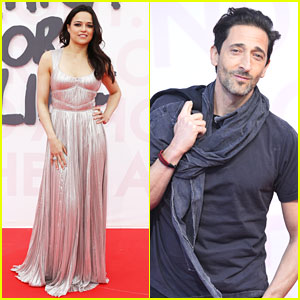 Michelle Rodriguez & Adrien Brody Support Fashion For Relief 2018