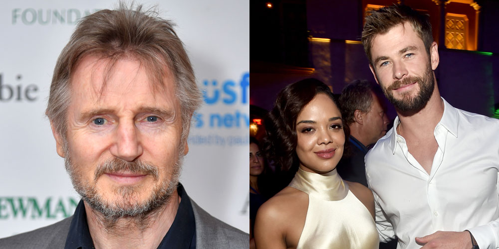Liam Neeson Joins 'Men in Black' Spinoff with Chris