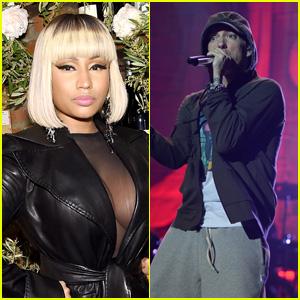 Nicki Minaj Seemingly Confirms That She's Dating Eminem